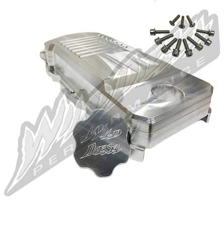 Wild Diesel Billet Alunimum Valve Cover for 2007.5-2017 6.7L Dodge Cummins