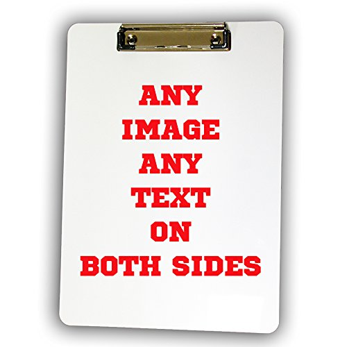 Personalized Custom Photo Clipboard - Any Image, Any Text, Any Logo