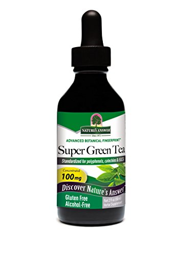 - Nature's Answer Super Green Tea, High Potency, 30% Egcg, 90% Polyphenols, 2-Ounce