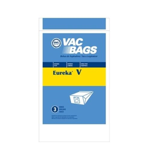 Vacuum Cleaner Bags Designed to Fit Eureka Style V -- Fits White-Westinghouse Canister All Models Using Bag Style VIP 9530