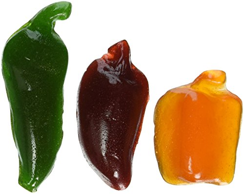 : SPICY GUMMY PEPPERS - 3 Pack (1.75 Oz. bags) by GIANT GUMMY BEARS