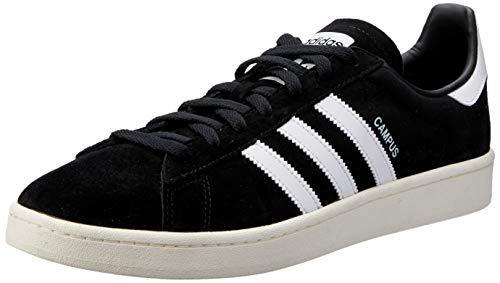 adidas Campus Mens Trainers Black White - 8 UK
