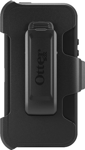 OtterBox Defender Series Case for iPhone 5/5s/SE - Black - Frustration Free Packaging by OtterBox (Image #2)