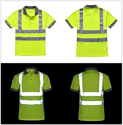 Extaum Camiseta de Seguridad Camiseta Ropa de Seguridad Laboral ...