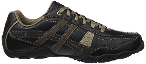 Para Zapatos henson Hombre Skechers De Diameter Negro blk Cordones Derby EqYnC5xf5P