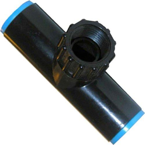 LASCO 15-8514P 5/8 710 OD Drip Tube Compression Fitting by Female Hose Swivel Tee