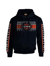 Harley-Davidson Pullover Hoodie - Billboard | Military Skull Text 3X