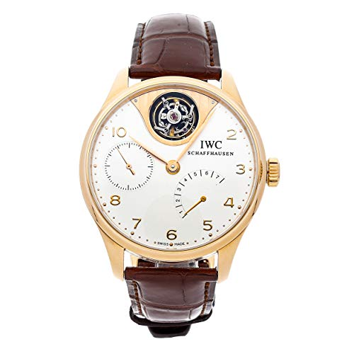 IWC Portuguese Mechanical (Automatic) Silver Dial Mens Watch IW5042-02 (Certified Pre-Owned)