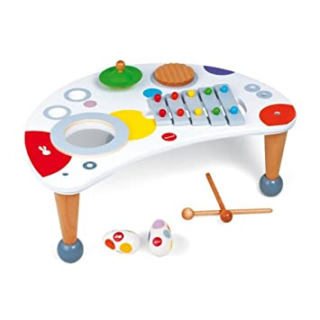 Superb Janod Confetti J07595 Musical Table