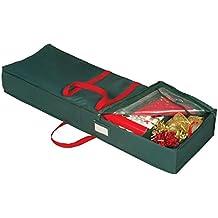 Holiday Green Gift Wrap Organizer