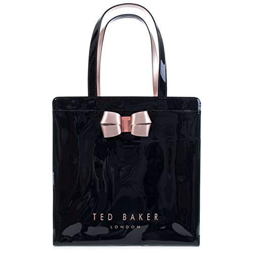 d3b8ab1ab Ted Baker  Vallcon  Bow Detail Icon Shopper Bag Size Large (Black ...