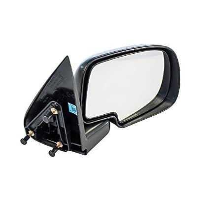 Driver Side Non-Heated Manual Operated Mirror for Cadillac Escalade Chevy Silverado Suburban HD Tahoe GMC Sierra Yukon XL 1500 2500 3500 1999-2007 - Parts Link #: GM1320230: Automotive