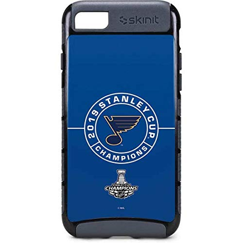 Skinit 2019 Stanley Cup Champions Blues iPhone 8 Cargo Case - Officially Licensed NHL Phone Case Cargo - Durable Double Layer iPhone 8 Cover
