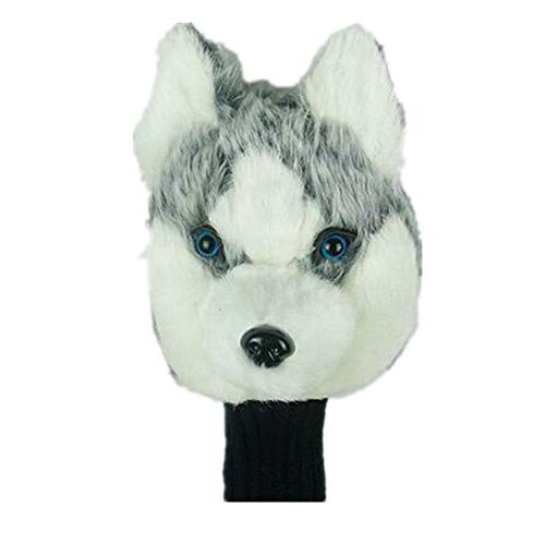 Golf Putter Head Covers, Standard Size Golf Putter Headcover Golf Club Covers Cute Animals 460cc Golf Putter Cover for No.3 No.5 Fairway Wood Golf Head Protector (Color : As Shown, Size : Free)