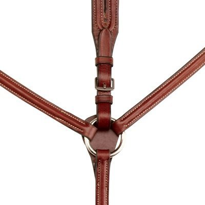 Kincade Raised Breastplate with Running Martingale Full, Brown