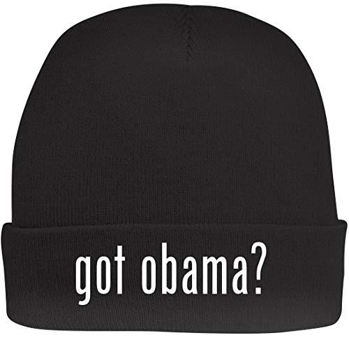 Shirt Me Up got Obama? - A Nice Beanie Cap, Black, OSFA