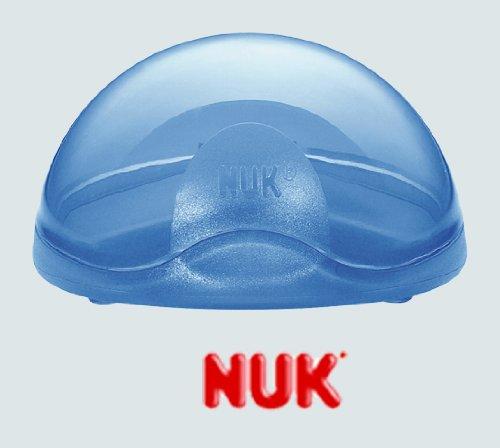Lot de 2 boites à tetine Nuk Starlight - Bleu
