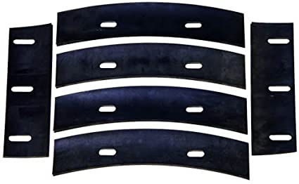 Stone 21047 Mortar Mixer Rubber Blades for 6, 7 or 8 Cubic Feet ...