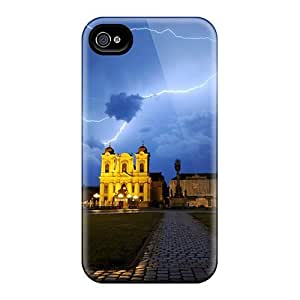 Awesome Design Union Square Timisoara Hard Case Cover For Iphone 4/4s
