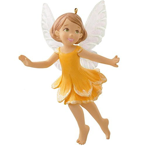 Hallmark Keepsake Ornament Daffodil Fairy 10th in The Fairy Messengers Series