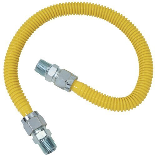 Brasscraft CSSC44-48 Gas Range and Gas Furnace Flex-Lines by Petra Industries Inc