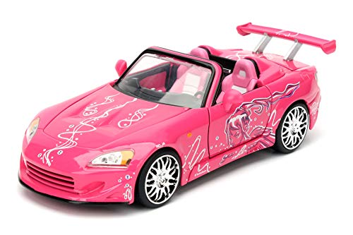 Suki'S 2001 Honda S2000 - 2 Fast 2 Furious 1:24 Diecast Model (Fast And Furious New Model Original Parts)