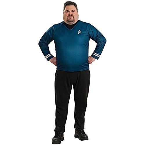 Star Trek Spock Plus Size Shirt - Plus Size (Star Plus Size Trek Costume)