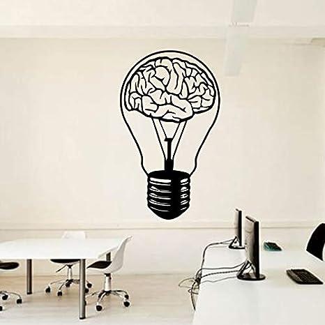 Tianpengyuanshuai Etiqueta de la Pared del Bulbo del Cerebro Idea ...