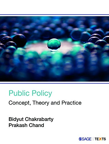 Public Policy: Concept; Theory and Practice