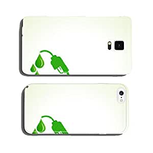 Bio fuel concept with nozzle stock vector cell phone cover case iPhone6