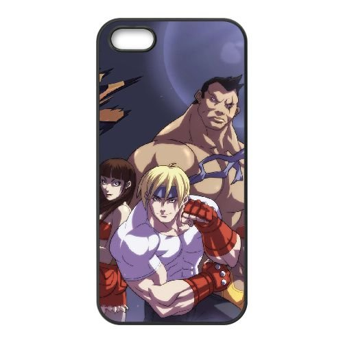 Streets Of Rage2 coque iPhone 5 5s cellulaire cas coque de téléphone cas téléphone cellulaire noir couvercle EEECBCAAN04848