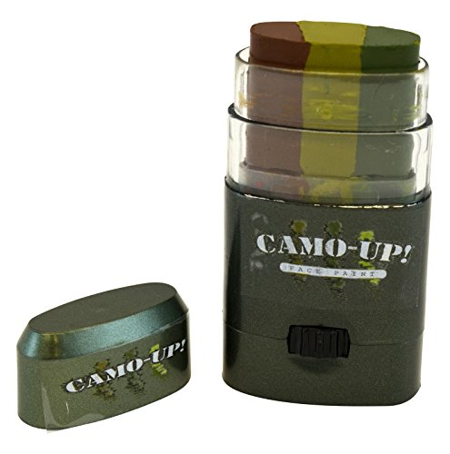 Camo-Up Face Paint, Military Hunting Halloween 3 Color Camouflage (Good Face Paint Ideas For Halloween)