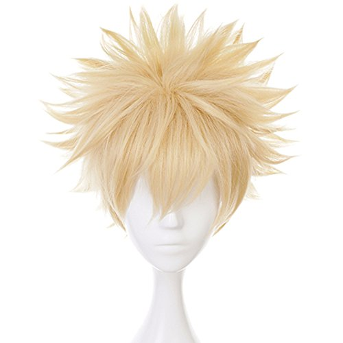 Anogol Cosplay Blonde Synthetic Costume product image