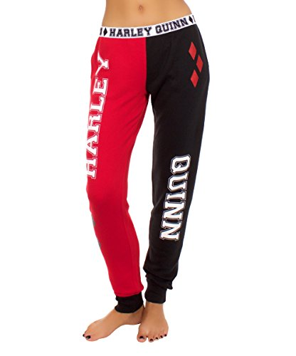 Harley Quinn Women's French Terry Pajama Pants- Medium]()