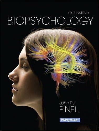 Biological Psychology , Ninth Edition