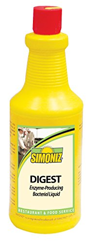 Simoniz D0860012 Digest Enzyme-Producing Drain Cleaner, 32 oz Bottles per Case (Pack of ()