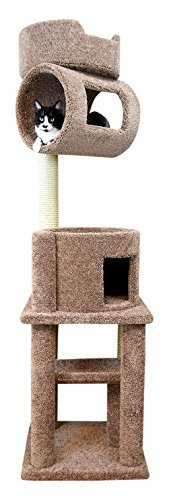 New Cat Condos Brown Large Cat Tree Tower