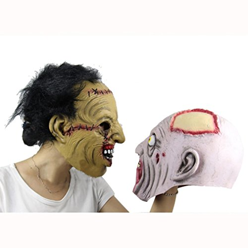 Leoy88 Halloween Party Mask Funny Mask Cosplay Mask (B)