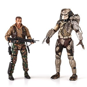 NECA Predator Movie Series 8 Action Figure Jungle Hunter [Improved Articulation]