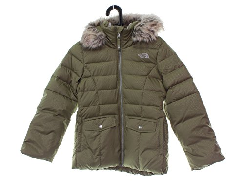 Girl's The North Face Gotham Down 2.0 Size M 10/12 Rabbit Grey by No Warranty The North Face
