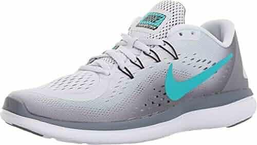 837dd6450a8eb NIKE New Women s Flex 2017 RN Running Shoe Platinum Jade 6.5