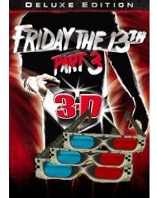 3D Glasses - 3 PAIRS - Original (not knock offs) Friday the 13th Part 3 Quality Deals 3DStereo Glasses