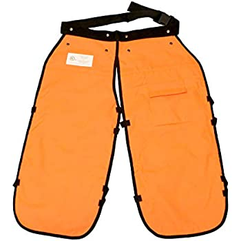 Amazon com: Forester Chainsaw Apron Chaps with Pocket
