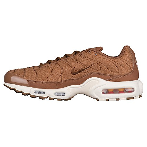 Nike Air Max Plus Trapuntato Uomo 806262-200 Ale Browle Marrone-vela
