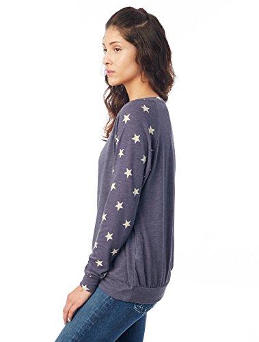 shirt Navy True Sweat Alternative Femme Eco Stars vBTPf