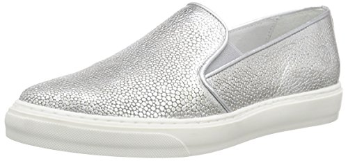 100 Silver BmecX Bronx Sneakers Women's Silver Low Top 0wAYz