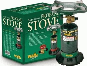 Compact Single-Burner Propane Stove