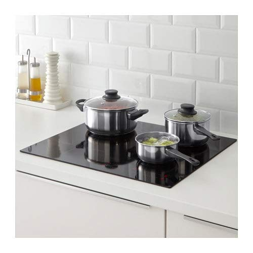 IKEA 5-PIECE COOKWARE SET, STAINLESS STELL by Ikea