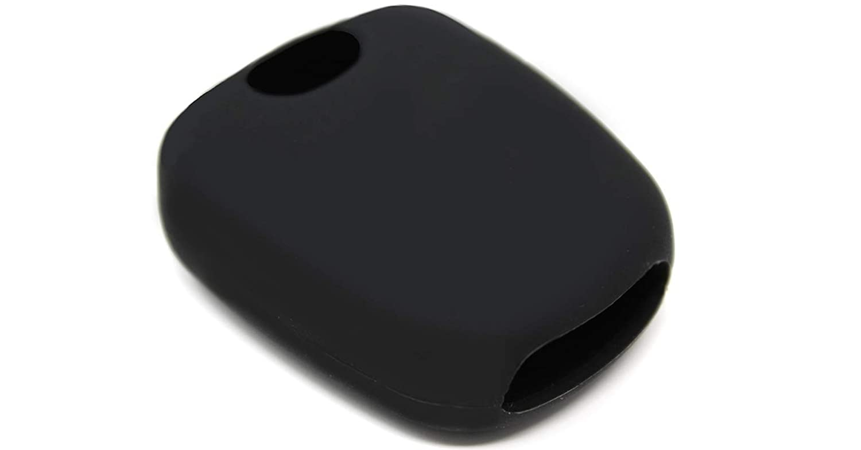 Coque de Silicone Cover cl/é pour t/él/écommande Citro/ën C1 C2 C3 C5 et Peugeot 103 106 107 206 207 307 308 406 407 508 806 1007-2 Boutons Blanc