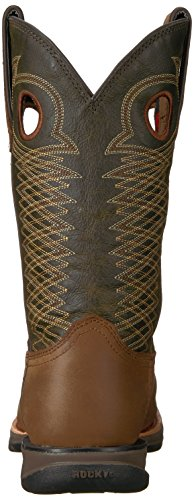 Brown Brown Boot and Men's Sunset Dark Dark Brown RKW0139 Rocky fzIwOFa